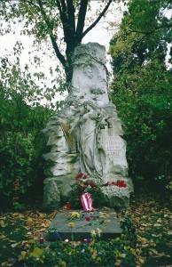 ヨハンストラウスの墓