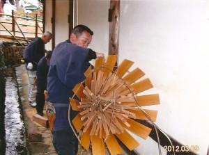 東大寺二月堂(修二会) お水取りの準備