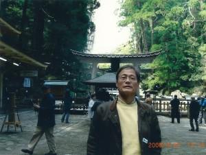 那智山は熊野三山の一つ