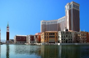 The Venetian Macao Resort Hotel とにかく大きい