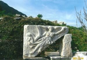 エフェソス遺跡地中海部文明ナイキの女神