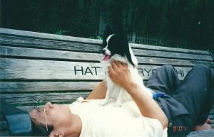 2001年9月 ラッキー1歳