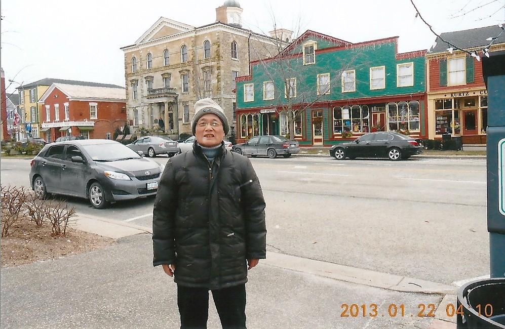 ナイアガラ・オン・ザ・レイク 昔のイギリス風の町並み Queen.Stがメインストリート