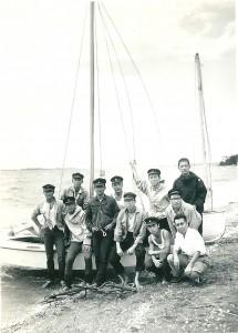 高校時代はヨット部で土曜と日曜日は朝から夕方まで海の上で過ごした