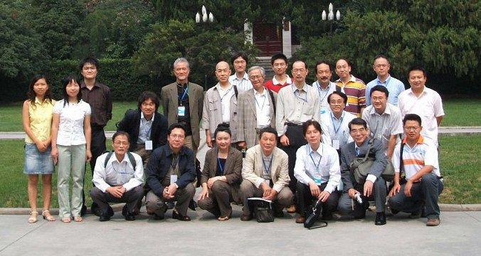 南京大学で集合写真