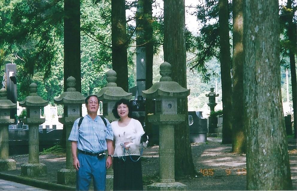 高野山墓地 昔の有名人の墓が多い